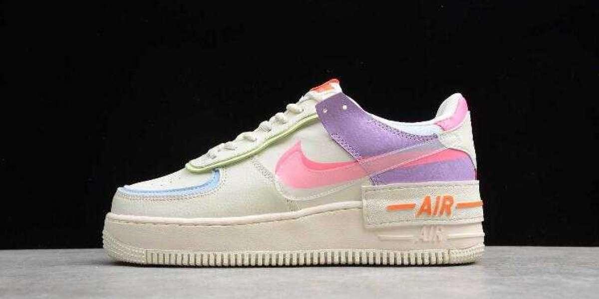 Where to Buy Nike Air Force 1 Shadow Beige White Orange ?