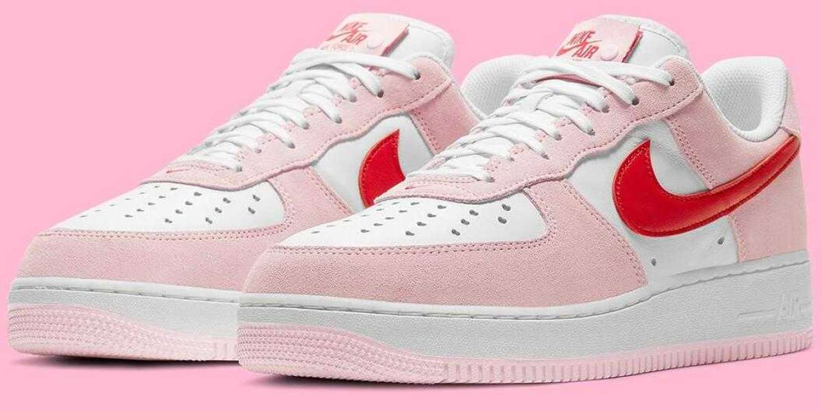 Nike Air Force 1 Love Letter Release for 2021 Valentine's Day