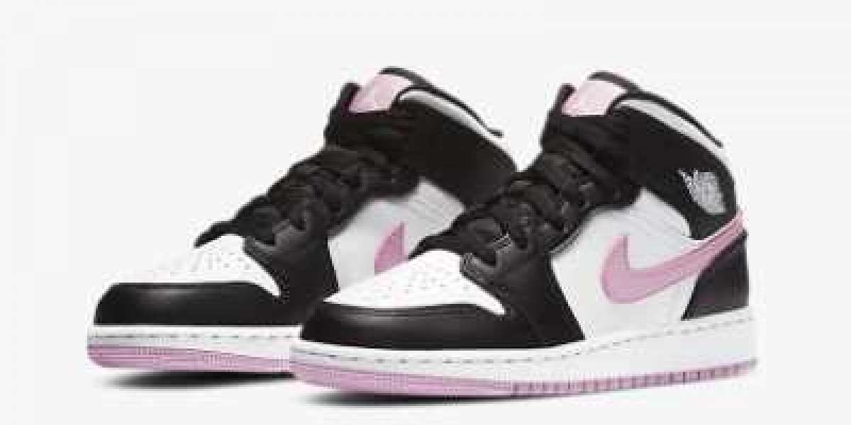 Best Selling Air Jordan 1 Mid GS Shoes 555112-103