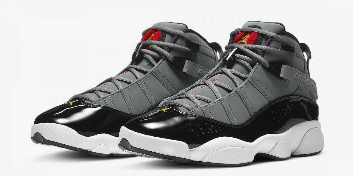 """322992-022 Jordan 6 Rings """"Cool Grey"""" Most Popular"""