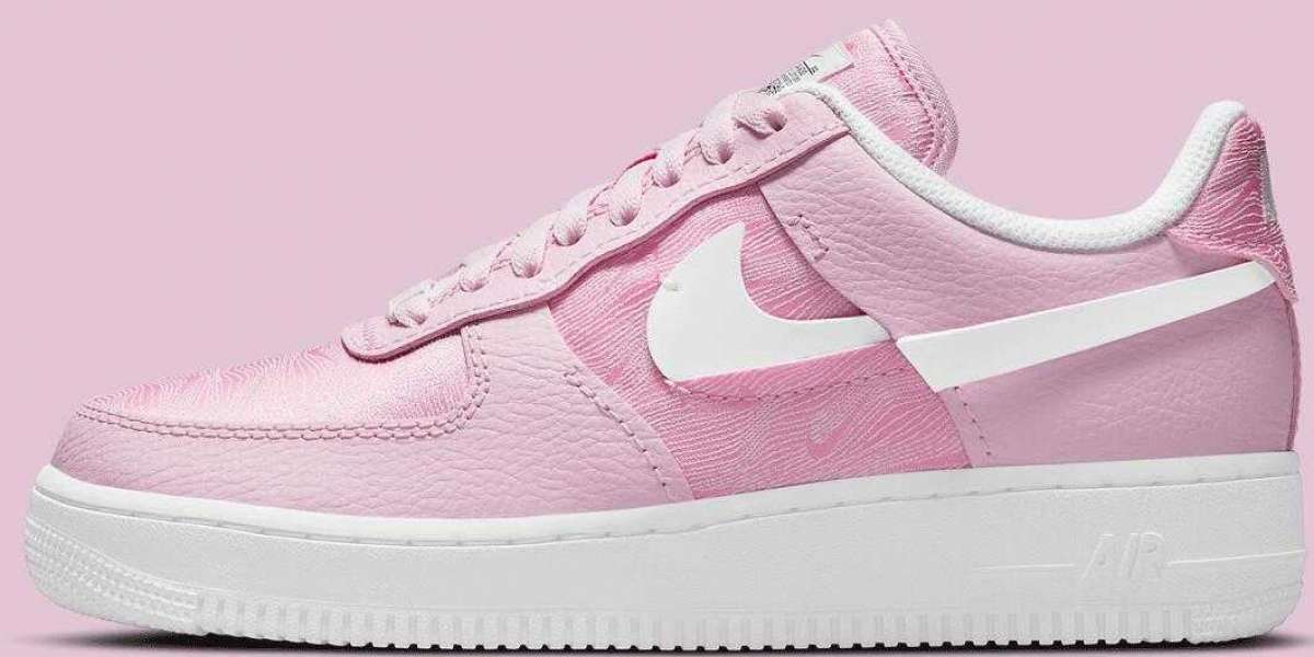 Nike Air Force 1 LXX Pink Foam Get the Seasonal Topography Detailing