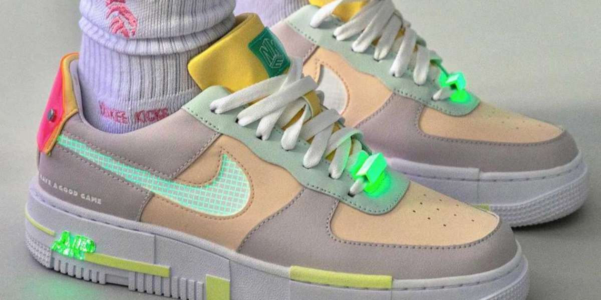 """2021 Latest Nike Air Force 1 Pixel """"Have a Good Game"""" DO2330-511"""