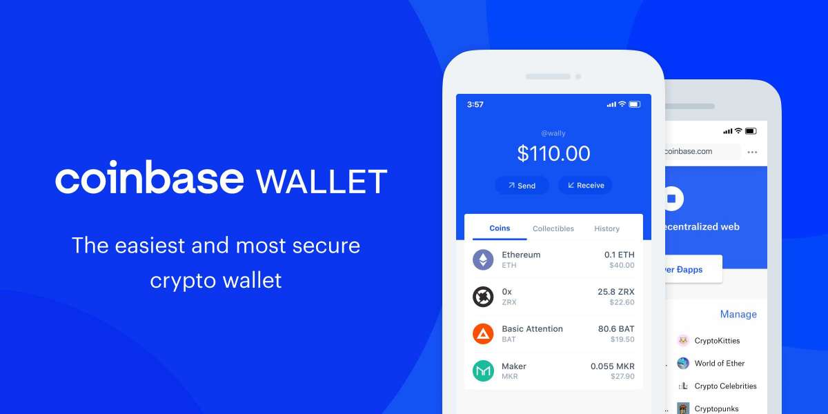 Walkthrough of the Coinbase Wallet service for your crypto
